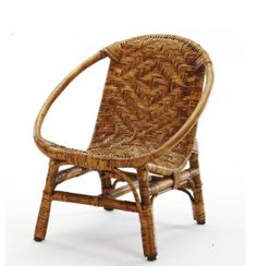 Gorgeous rattan/wicker chair.