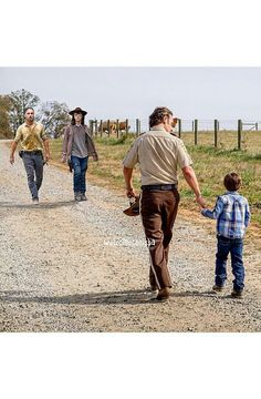 RICK AND CARL GRIMES 'FROM BOY TO MAN!'.