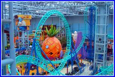 Nickolodeon Park at Mall of America (Minneapolis, Minnesota)
