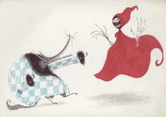 Tim Burton's art.