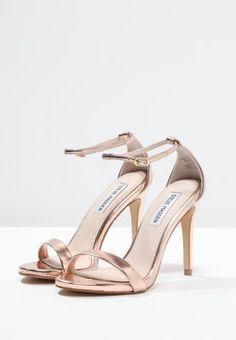 c90f2ab955 Steve Madden STECY - High Heel Sandaletten - rose gold - Zalando.de Goldene  Sandalen