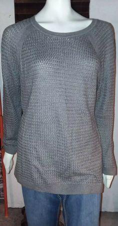 Long Sleeve Full Zip Women/'s  Light Hoodie Sonoma size XL Grey /& Blue NWT