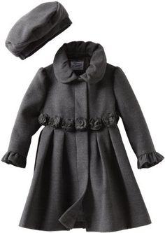 80.00Rothschild Girls 2-6X Toddler Dress Coat With Rosettes, Charcoal, 4T Rothschild,http://www.amazon.com/dp/B007VCHBSY/ref=cm_sw_r_pi_dp_67N1qb0JPN24566T