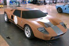 OG | Ford GT40 | Full-size clay model