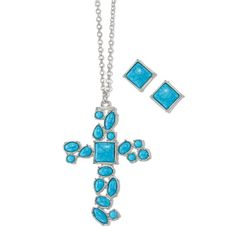 The look of turquoise is a summertime essential that will never go out of style! Gorgeous faux-turquoise stones set in silvertone. Regularly $19.99, shop Avon Jewelry online at http://eseagren.avonrepresentative.com