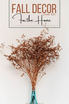 Fall Home Decor Finds $25 and Under! Decorate your home for fall with these simple and inexpensive updates! #falldecor #decoratingforfall #happyfall #autumndecor #fall #autumn #homedecor Fall Home Decor, Autumn Home, Diy Home Decor, Autumn Decorating, Decorating Your Home, Fall Arrangements, Fall Scents, Food Platters, Young Love