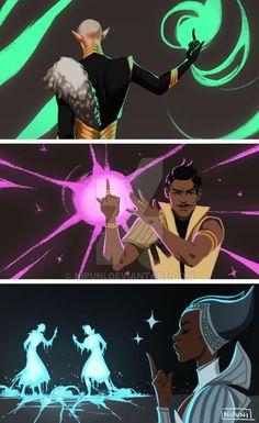 Solas VS Dorian VS Vivi. << My Inquisitor would have beaten her! XD