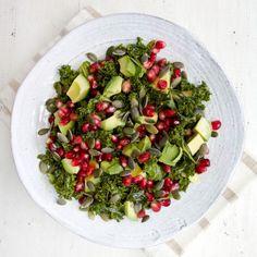 Marinated Kale Salad #MeatlessMonday