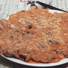 김치부침개 #김치전 #깁차부침개 #김치부침개맛있게 만드는법  W #동원 http://me2.do/5UIcn3F0 출처 : 휘성맘의 .. | 네이버 블로그