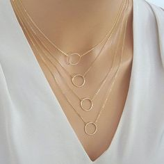 GET $50 NOW   Join RoseGal: Get YOUR $50 NOW!http://m.rosegal.com/necklaces/modern-multilayered-circle-pendants-necklace-for-women-509758.html?seid=7145223rg509758