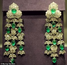 Elizabeth adored the emerald suite, and wore the earrings many years after she'd first bought them with Burton in Italy