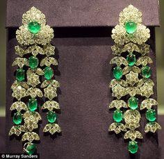 #Elizabeth Taylor #chandelier earrings