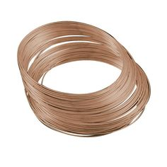 No of Pieces 20 x Main Colour Red Copper Material Stainless Steel Size 1mm Shape Memory Wire Bracelet