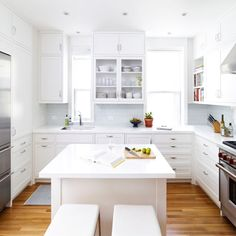 See more images from NYC elegance and one must see kitchen!  on domino.com