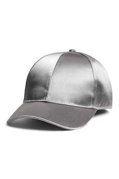 Saten Şapka - Gümüş - KADIN  884772f40f