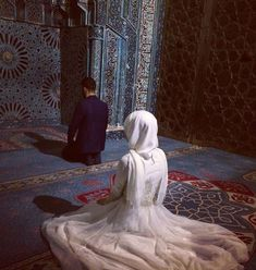 Image about love in ✨🌸The beauty of Islam✨🌸 by ياسمين♡ Cute Muslim Couples, Muslim Girls, Romantic Couples, Muslim Women, Wedding Couples, Cute Couples, Muslim Family, Muslim Love Quotes, Love In Islam