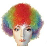 Halloween Dress Up Crazy Wig Grey Black Curly Wicked Witch Cat Lady Bushy Afro