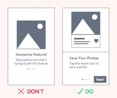 If an app is a product, then the walkthrough is its instruction manual. A walkthrough appears during onboarding—when new users open an app for the first time. Web Design Tips, Layout Design, Ux Design, Mobile App Design, Mobile Ui, Ui Design Inspiration, Ui Web, How To Be Likeable, Sticky Notes