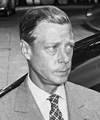Edward VIII (1894 - 1972) was King of the United Kingdom and Colonies of state from 20 january 1936 until he abdicated their own volition December 11, 1936. Edward VIII abdicated to marry the American Wallis Simpson, who was divorced twice and recently divorced from another husband. Giving up easier by the fact that he had not kept his coronation.