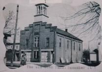 City of Batesville, Indiana - This building was eventually used as the gym for the Batesville Middle School.
