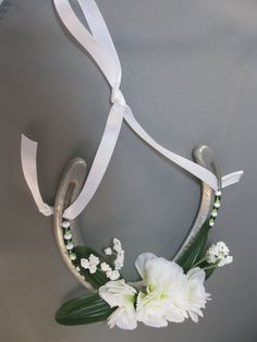 Authentic Thoroughbred Race Horse Decorated Horseshoe by janisbell