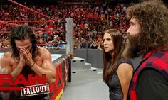Seth Rollins confronts Stephanie McMahon after Raw goes off the air: Raw…