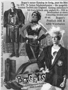 Bogey's Underground Fashion was in Wiesbaden, Germany.  *We all hung out in Dschungel