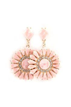 Magaline Earrings in Aspen Mother of Pearl