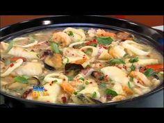 Aprenda a fazer uma feijoada branca com frutos do mar #Receitas - YouTube