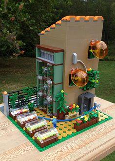 Lego Display, Lego Club, Lego Modular, Lego Design, Modular Design, Lego Hacks, Casa Lego, Box Container, Lego Pictures