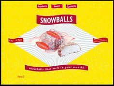 A Tunnocks 'Snowball'.