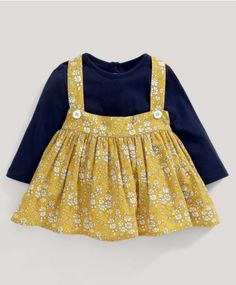 Liberty Capel Pinafore & T-Shirt Set