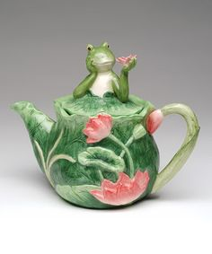 This Alfrogo Teapot by Sugar High Social is perfect! #zulilyfinds