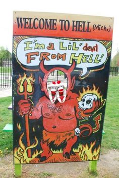 Hell, MI  There's Ice Cream in Hell