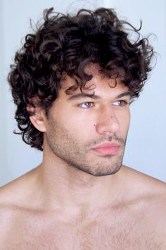 Men with Curly hair