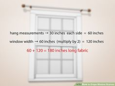 How to Drape Window Scarves. A window scarf, smartly hung, can highlight an entire room. Use a window scarf to cover up a curtain rod, or install scarf hooks to hang a window. Scarf Curtains, Window Scarf, Home Curtains, Window Drapes, Hanging Curtains, Burlap Curtains, Curtains Living, Beaded Curtains, Curtain Styles