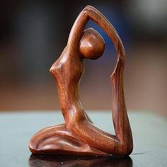 Hand Carved Original Wood Sculpture