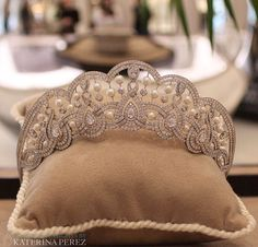 """House of Garrard, tiara from the """"Entanglement"""" collection"""