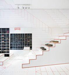 Camper Shoe Store|Lyon|Studio Makkink Bey