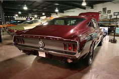 1967 Ford Mustang GT Fastback #muscle #car