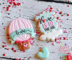Hot Air Balloon With Ribbon