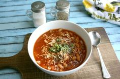Instant Pot Minestrone Soup Recipe {Pressure Cooker, Gluten Free} - make this simple, yet hearty and delicious soup from start to finish in less than 20 minutes. It's gluten-free and there's an option to make it vegan as well - DontMesswithMama.com Marzano, Soup Recipes, Cooker Recipes, Real Food Recipes, Pasta Recipes, Free Recipes, Vegan Recipes, Pesto, Lentil Pasta