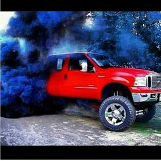 Hear the whistle, see the smoke, you've been passes by a powerstroke!;)