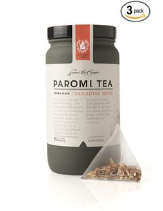 PAROMI TEA.  packaging