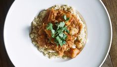 @Kinfolk Farm Magazine (kinfolk.com) recipe from The Kinfolk Table: Mushroom, tomato, and white bean stew