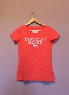 À vendre sur #vintedfrance ! http://www.vinted.fr/mode-femmes/hauts-and-t-shirts-t-shirts/36290492-tee-shirt-orange-kingsley-heath