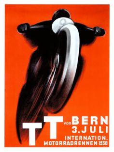 T.T. von Bern, ca. 1938 Giclée-Druck