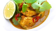 Panang Curry Recipe: a creamy Thai panang curry with chicken. by @junedarville