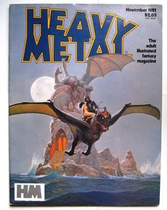 Heavy Metal magazine November 1981