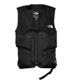 Get out of bounds without the bulk. Originally designed to meet the demands of hardworking ski patrollers, this vest enables skiers/riders to carry sidecountry excursion essentials without a pack. Constructed of bombproof, ballistic nylon this vest fits over the wearer's shell and features a collection of purpose-built carrying systems and pockets that provide secure and balanced weight distribution for avalanche gear and skis/board.